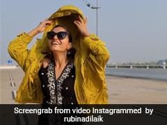 Rubina Dilaik ने बीच रोड पर दिखाया SWAG,  देखें वायरल VIDEO