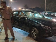 Drunk Mechanic Takes Mercedes For Joyride In Delhi, Crashes Into Auto