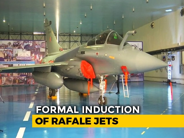 "Video : ""New Bird In Arsenal"": 5 Rafales To Join Air Force Today"