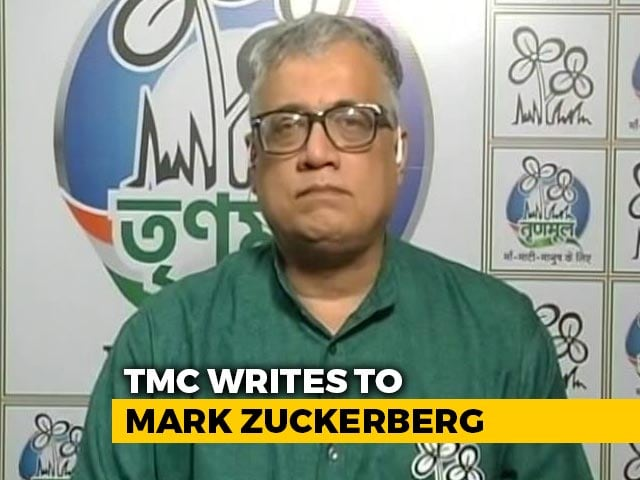 "Video : ""Facebook-BJP Link"" Ahead Of Bengal Polls: Trinamool Writes To Zuckerberg"