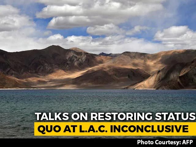 Video : India, China Military Talks On Restoring Status Quo Inconclusive: Sources