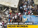 Video : 10 Dead In Building Collapse Near Mumbai, Child Among Those Rescued