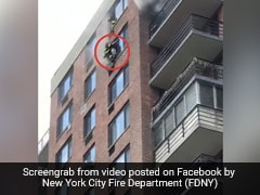 """""""He Was Like Spider-Man"""": Firefighter's Dramatic Rescue Video Goes Viral"""