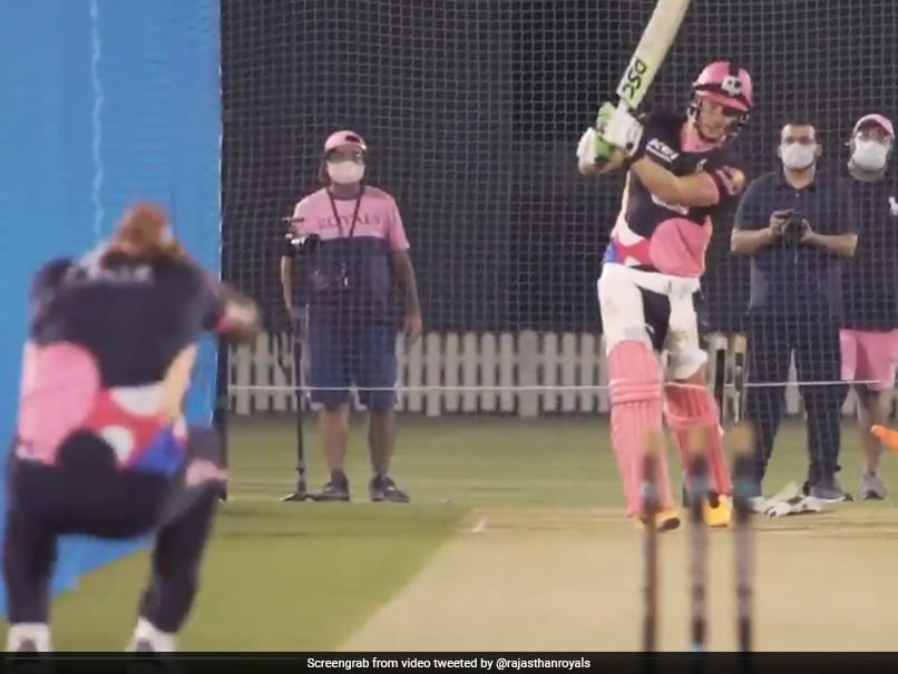 Watch: David Millers Powerful Shot In Rajasthan Royals Training Leaves Ankit Rajpoot Ducking For Cover