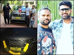 Baahubali Actor Prabhas Gifts His Gym Trainer A New Range Rover Velar SUV