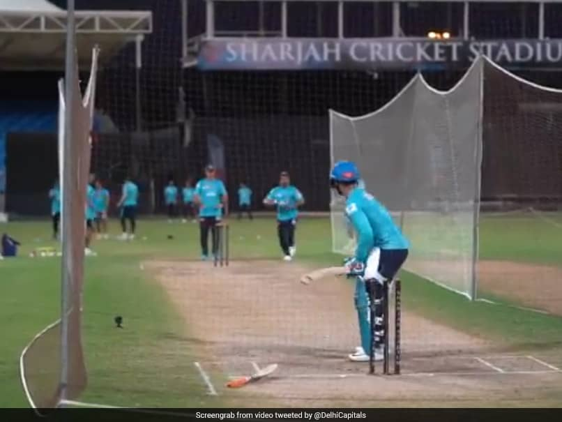 Watch: Rishabh Pant Shows Off Six-Hitting Prowess In Delhi Capitals Nets Session