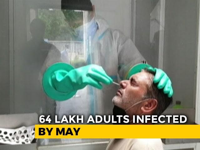 Video : India Likely Had 6.4 Million Covid Cases By May, Says ICMR's Sero Survey