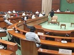 इस बार नहीं होगी सर्वदलीय बैठक, प्रश्नकाल न होने से विपक्ष नाराज