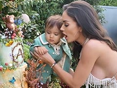 Here's How Amy Jackson Celebrated Her Son Andreas' First Birthday