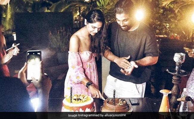 Allu Arjun Posted This Gem Of A Wish On Wife Sneha's Birthday