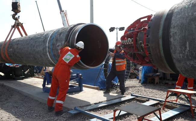 """Russia, Germany """"Satisfied"""" With Progress Of Nord Stream-2 Pipeline"""
