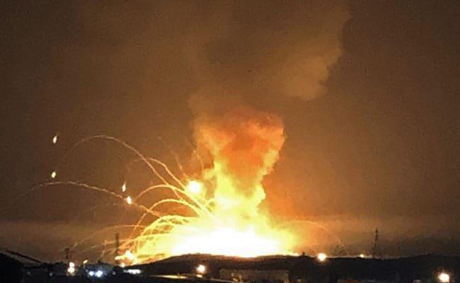 Huge Explosion At Jordan Military Arms Depot, No Casualties