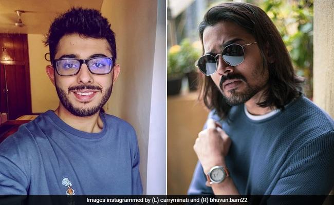 Bhuvan Bam's ROFL Reply To CarryMinati's 'Bigg Boss' Clarification