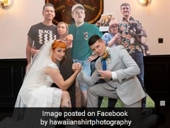 Couple Spends Rs 2 Lakh Creating Cardboard Cutout Guests For Wedding