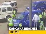 Video : Win For Kangana Ranaut In Battle With Sena As She Arrives In Mumbai