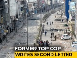 """Video : Noted Ex-Cop Flags Role Of """"BJP Stalwarts"""" In 2nd Letter On Delhi Riots"""