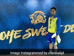"""IPL 2020: CSK Share """"Lion King"""" MS Dhoni's Picture As He Leaves For Training"""