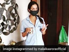मलाइका अरोड़ा का कोरोना हुआ ठीक, Photo पोस्ट कर बोलीं- बहुत दिनों बाद अपने कमरे से बाहर निकली...