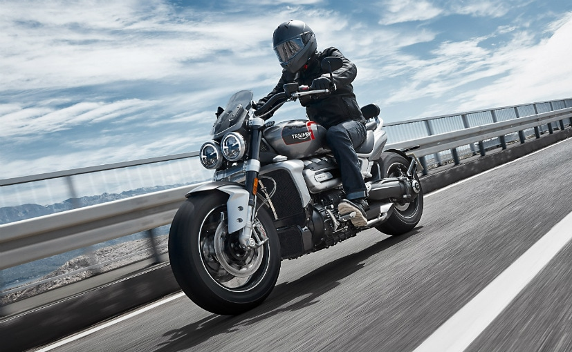 The Triumph Rocket 3 GT is priced at Rs. 18.4 lakh (ex-showroom)