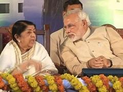 """Spoke To Lata <i>Didi</i>, Conveyed Birthday Greetings"": PM Modi"