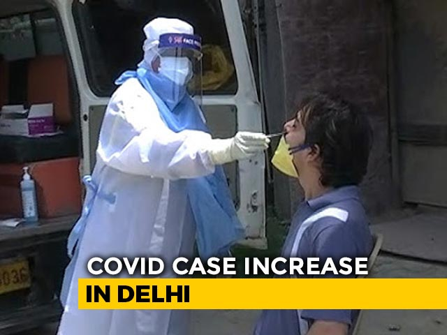 Video : Delhi Records Highest Single-Day Spike With Over 4,000 New COVID-19 Cases