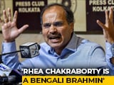 "Video : Rhea Chakraborty ""Bengalee Brahmin"": Congress Leader Amid Political Row"