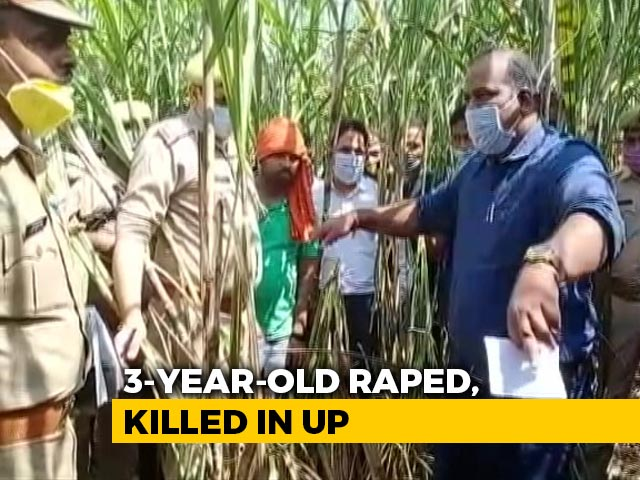 Video : Accused In UP 3-Year-Old's Rape-Murder Arrested After Encounter With Cops