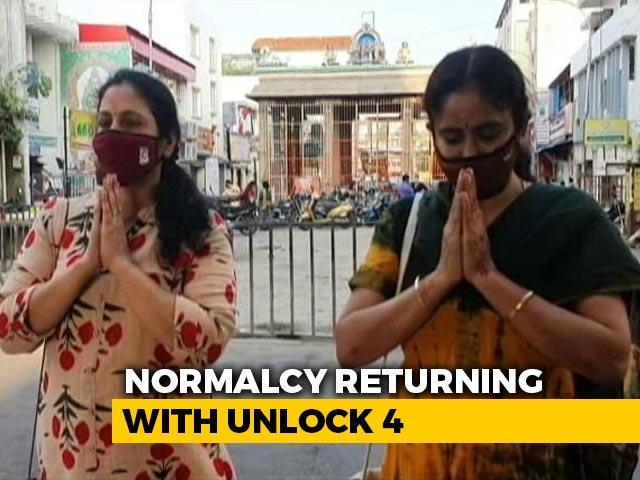 Video : Unlock4: Temples Reopen In Tamil Nadu; Pubs, Bars In Bengaluru With 50% Capacity