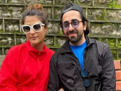 Ayushmann Khurrana And Tahira Kashyap Take A Holiday. Destination - Kasauli