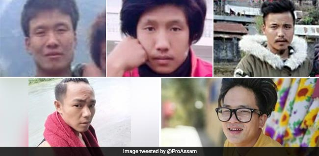 China Hands Over 5 Indians Who Went Missing From Arunachal - NDTV