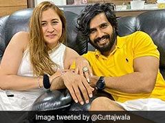 Badminton Star Jwala Gutta Gets Engaged To Actor Vishnu Vishal