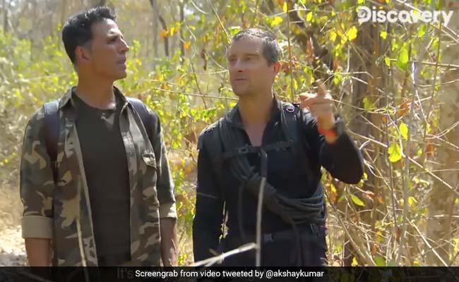 Into The Wild: How Akshay Kumar And Bear Grylls Found