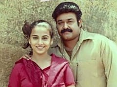The Special Factor In Vidya Balan's Throwback Pic - Mohanlal. Circa 2000