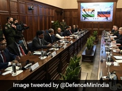Defence Minister Rajnath Singh Holds Talks With Russian Counterpart