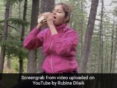 Rubina Dilaik ने फैन्स को दिखाई पहाड़ों की जर्नी, कभी बर्गर तो कभी नूडल्स खाती दिखीं- देखें Video