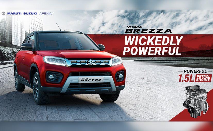 The all-new Vitara Brezza comes with the company's latest 1.5 K-Series petrol engine