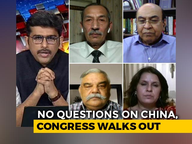 Video : Defence Minister's 'Warning' to China in Parliament