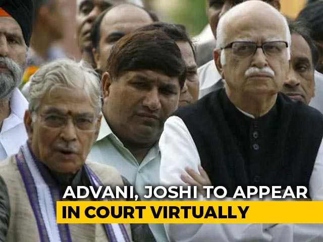 Video : Babri Case Verdict Today, LK Advani, MM Joshi, Uma Bharti To Skip Court