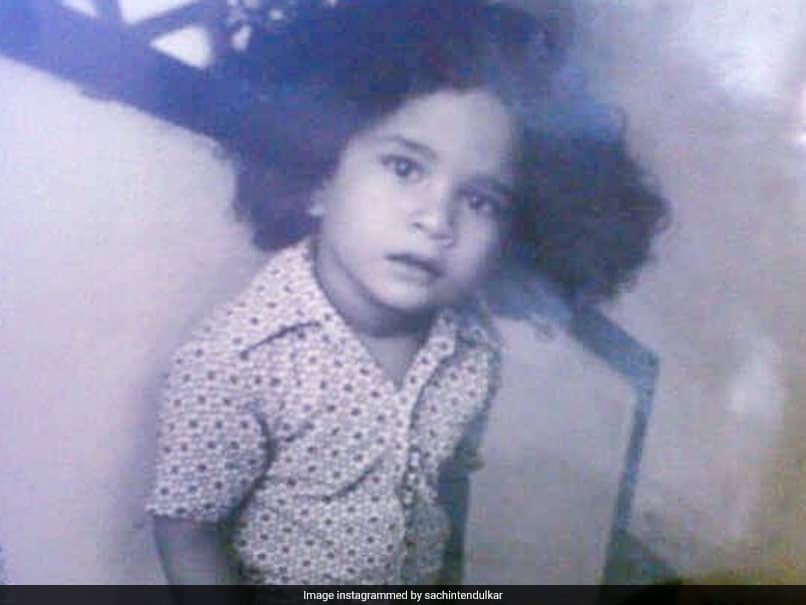 """Reason For Long Hair Wasnt Lockdown"": Sachin Tendulkar Posts Childhood Picture On Instagram"