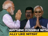 "Video : ""With A <i>Sahyogi</i> Like Nitish Kumar"": In PM Modi's Praise, A Message"