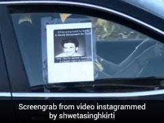 सुशांत सिंह राजपूत के लिए कैलिफोर्निया में निकली कार रैली, बहन श्वेता ने शेयर किया Video