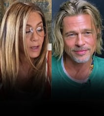 The Internet 'Can't Get Enough' Of This Jennifer Aniston-Brad Pitt Moment