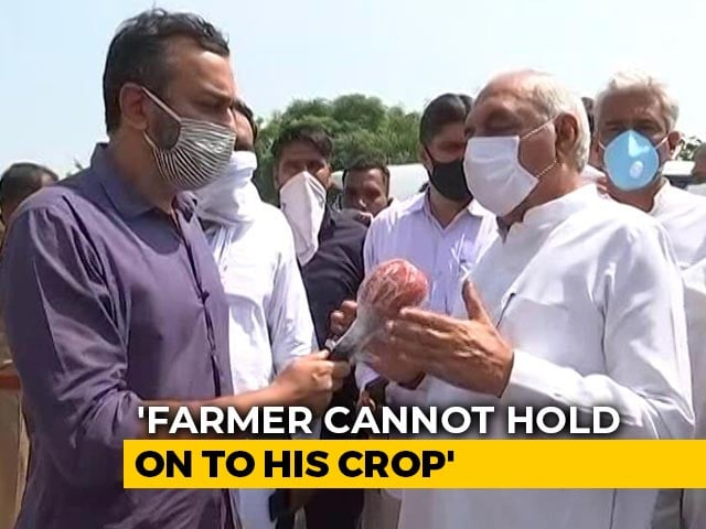 Video : If You Sell Outside Mandi, Buyers Not Bound To Stick To MSP, Says BS Hooda