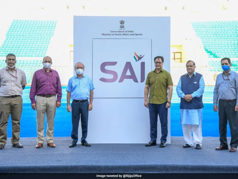 Kiren Rijiju Unveils New Sports Authority Of India Logo