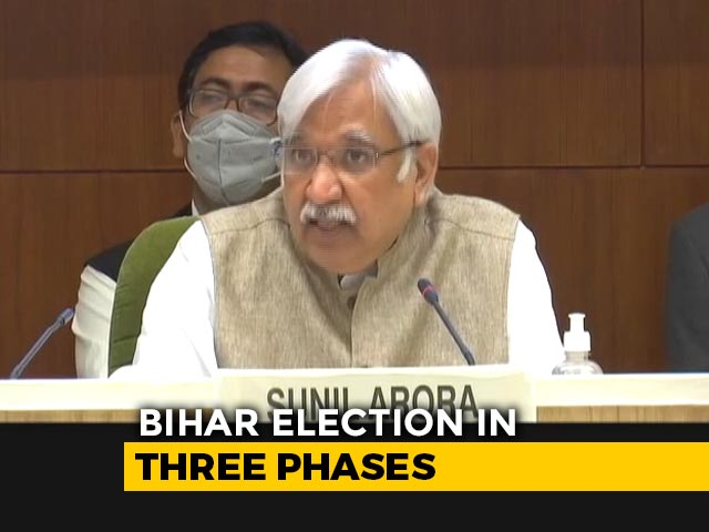Video: Bihar Polls - What Changes In World's 1st Biggest Election Amid Pandemic