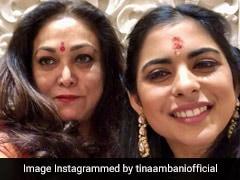 To Twins Isha And Akash, Birthday Wishes From Tina Ambani