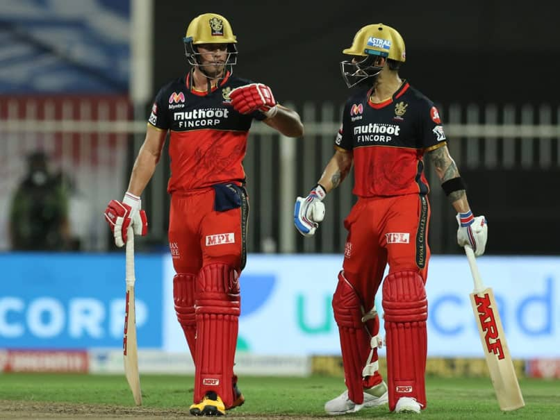 RCB vs KKR: Thats how AB de Villiers this this becomes life time six for this child