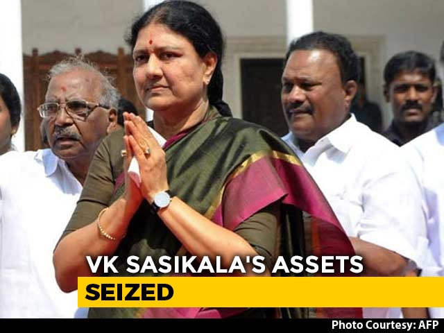 Video : Ahead of Release From Jail, VK Sasikala's Assets Worth 1,500 Crore Seized