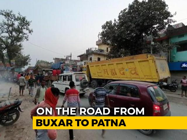 Video : Bihar Polls: Buxar Chocking On Dust, Reeling Under Traffic Chaos