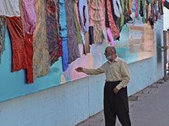 5-Km-Long Artwork Pays Homage To Abused Iraq Kurd Women